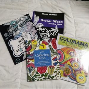 Other - Stress relief colouring books